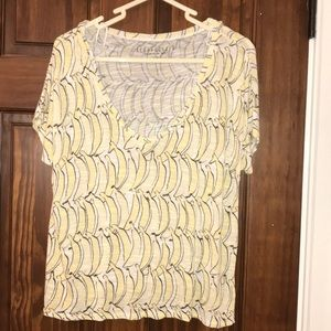 Aeropostale Banana Crop Top